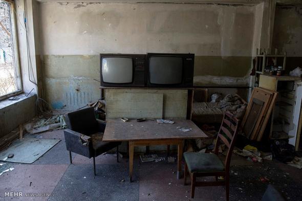 تصاویر : ويرانه هاي جنگ اوکراين