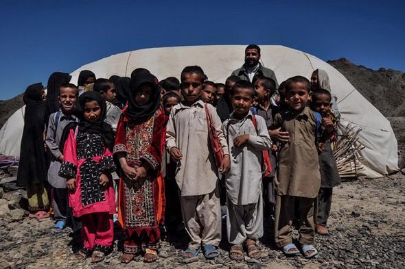 تصاویر : مدرسه کپری در روستای «میسی»