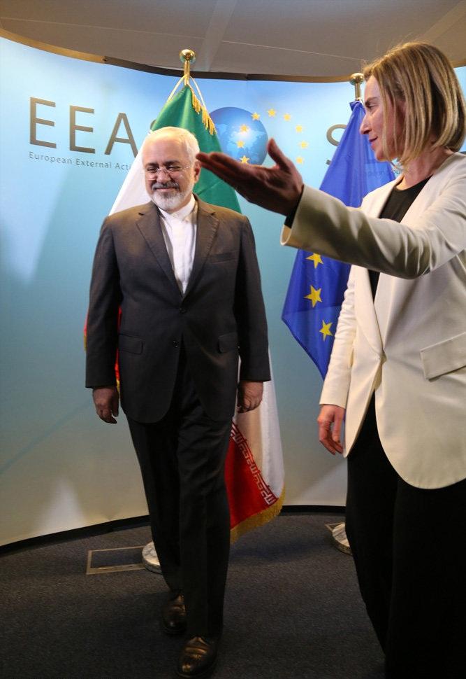 تصاویر : مذاکرات ظریف در بروکسل