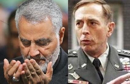 تمجید بی سابقه «ژنرال پترائوس» از «حاج قاسم سلیمانی» : او فردی توانمند، مدبر و دشمنی شایسته است