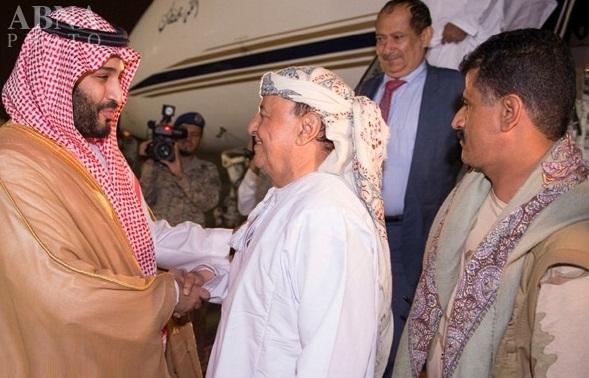 استقبال وزیر دفاع عربستان از