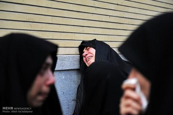 تصاویر : مراسم تشییع همسر آیت الله جنتی