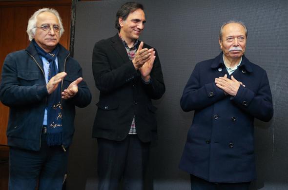 تصاویر : حضور هنرمندان در تجلیل از علی نصیریان