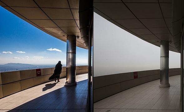 تصاویر : تهران بعد از آلودگی هوا