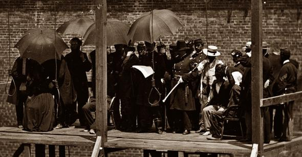 تصاویر : اعدام عوامل ترور لینکلن