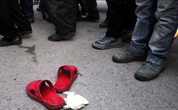 تصاویر : اعدام قاتل زن جوان در ملأ عام