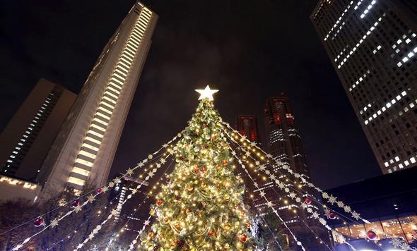 تصاویر : درخت کریسمس در سراسر جهان