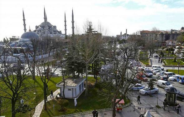 تصاویر : انفجار تروریستی در استانبول