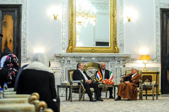 تصاویر : دیدار رئیس مجلس نمایندگان لوکزامبورگ با آیتالله هاشمی