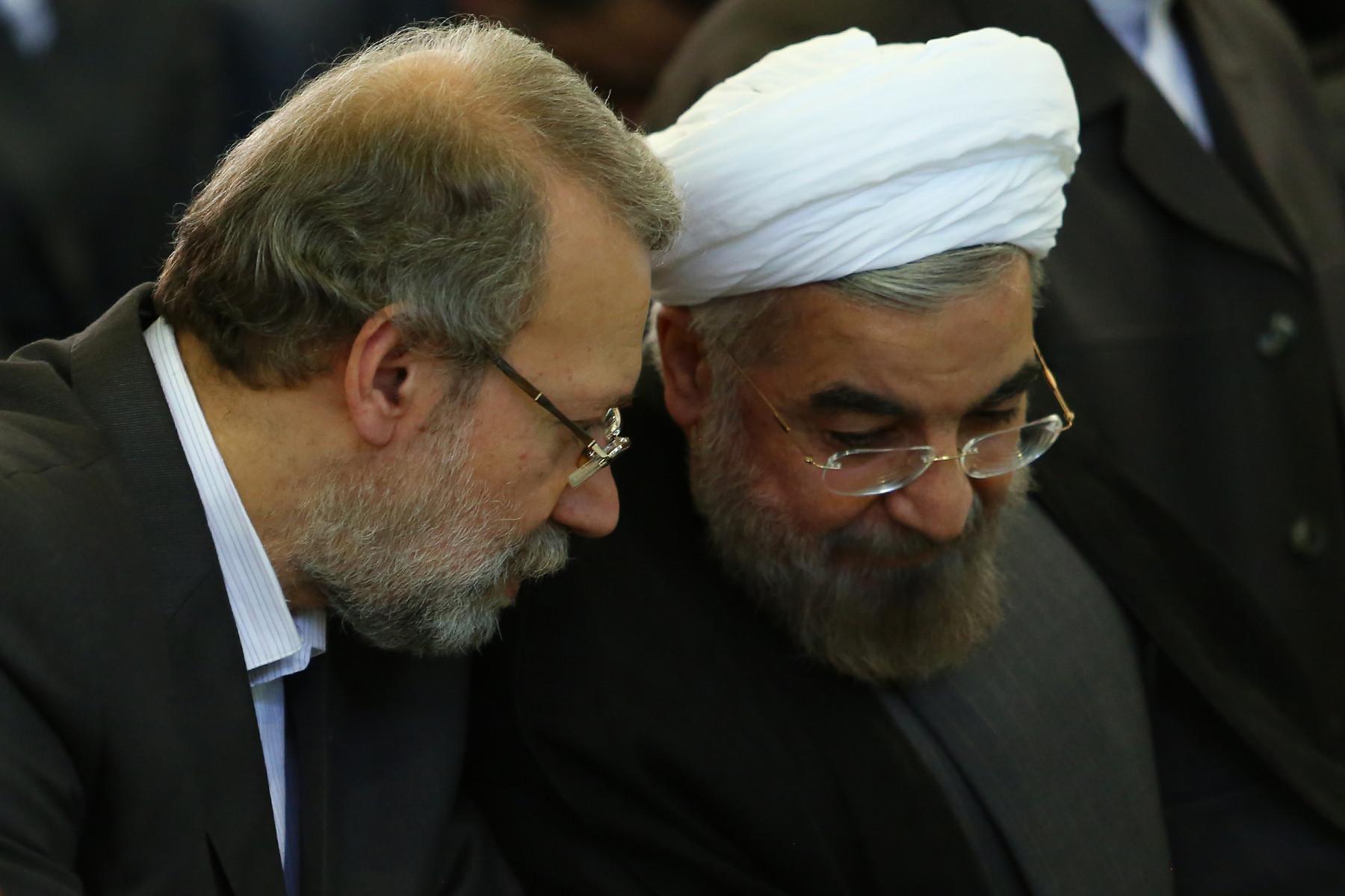 مذاکره روحانی و لاریجانی با شورای نگهبان