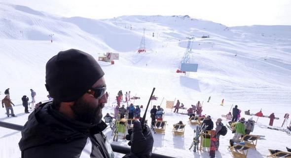 تصاویر : گزارش رویترز از پیست اسکی دیزین