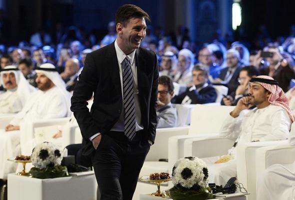 تصاویر : مسی ارزشمندترین بازیکن جهان شد