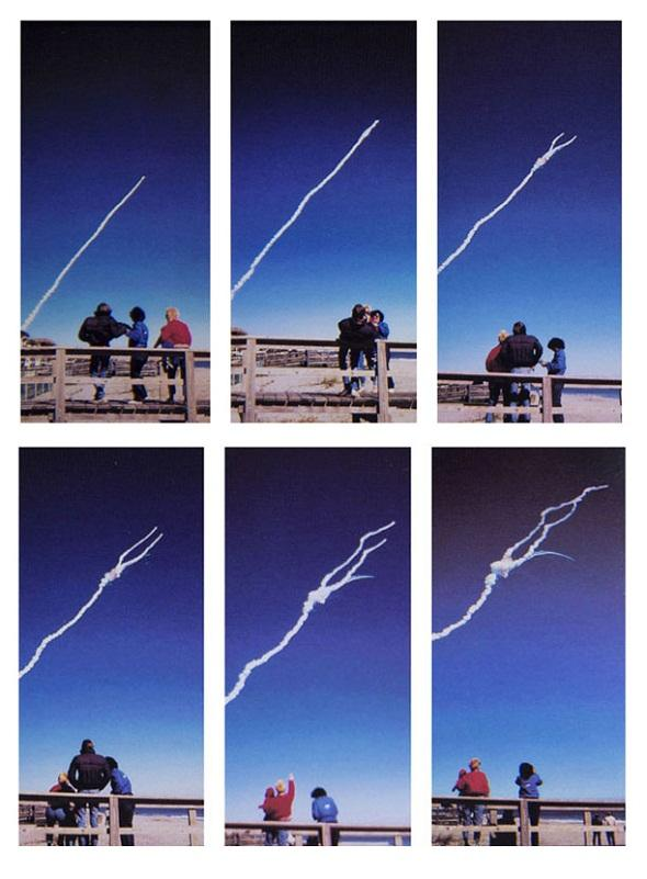 تصاویر : بزرگترین فاجعه فضایی تاریخ