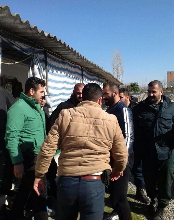 تصاویر : لحظه دستگیری «شاه مازندران»