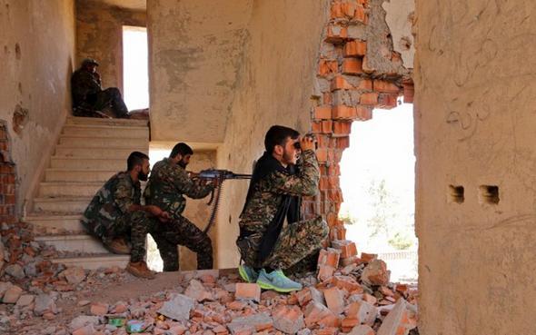تصاویر : چریک های جبهه دموکراتیک سوریه