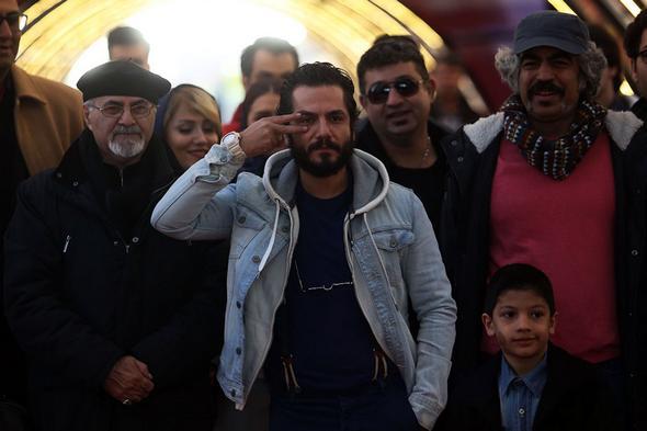 تصاویر : در حاشیه سومین روز جشنواره فیلم فجر