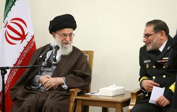 تصاویر : دیدار اعضای شورایعالی امنیت ملی با رهبر معظم  انقلاب