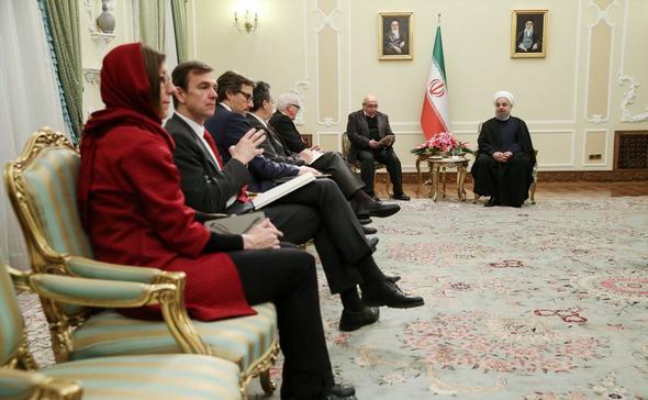 تصاویر : دیدارهای اشتاینمایر در تهران