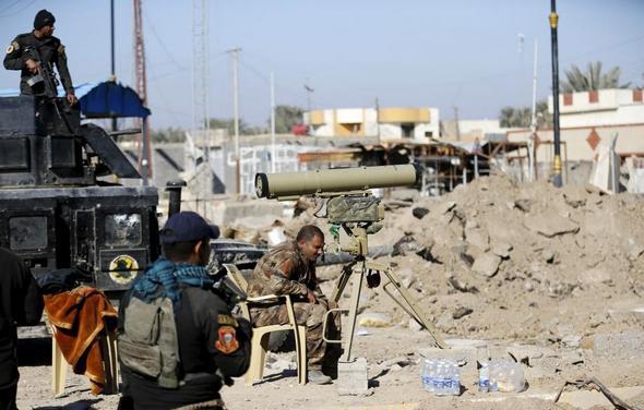 تصاویر : بلایی که داعش برسر رمادی آورد