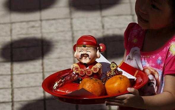 تصاویر : آغاز سال میمون در شرق آسیا