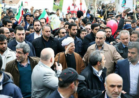 تصاویر : شخصیتها و مقامات در راهپیمایی