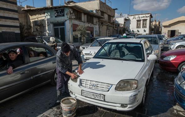تصاویر : زندگی مردم در دمشق