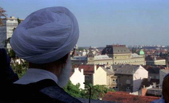 تصاویر : آیت الله جنتی در اروپا