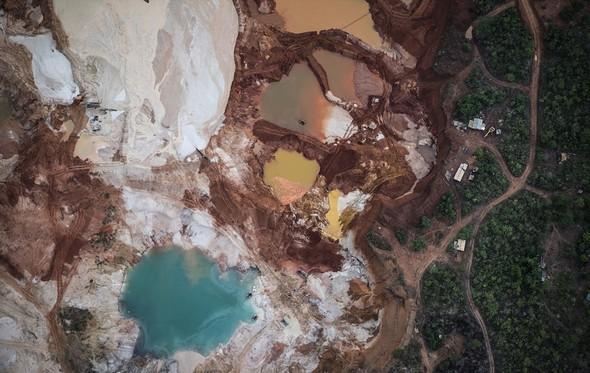 تصاویر : یک روز در معدن الماس
