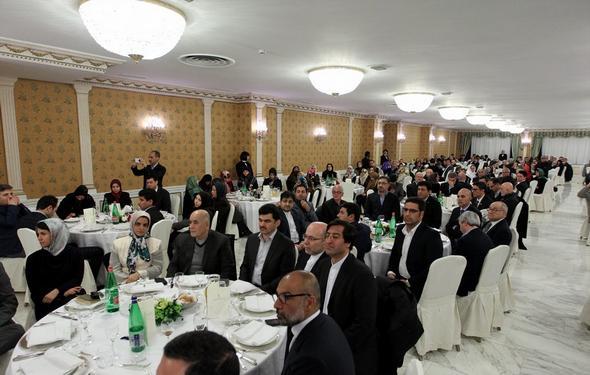 تصاویر : دیدار روحانی با ایرانیان مقیم ایتالیا