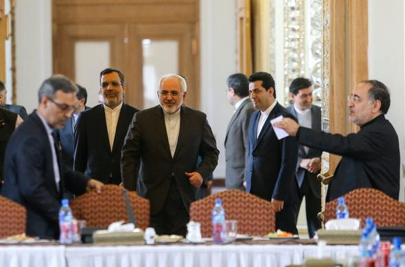 تصاویر : تقدیر ظریف از خبرنگاران سیاست خارجی