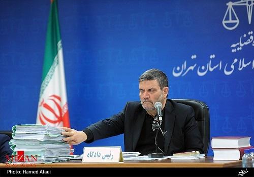 کدام قاضی حکم اعدام بابک زنجانی را صادر کرد؟ / عکس