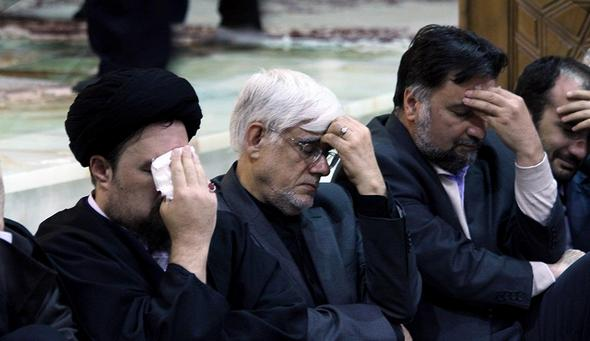 تصاویر : بیست و یکمین سالگرد رحلت سید احمد خمینی