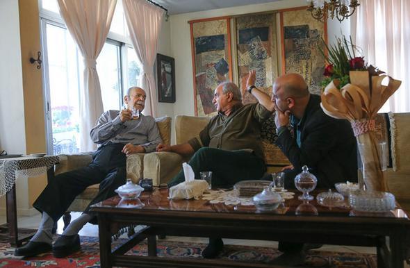 تصاویر : دیدار پرویز پرستویی با بزرگان سینما