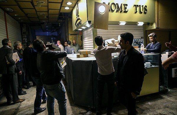 تصاویر : انفجار مهیب در بازار تهران