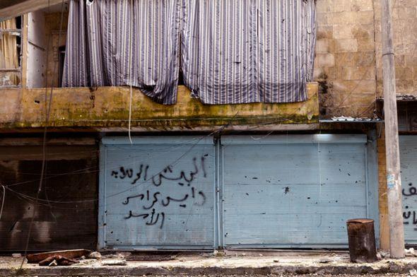 تصاویر : حلب، ویرانۀ متروک
