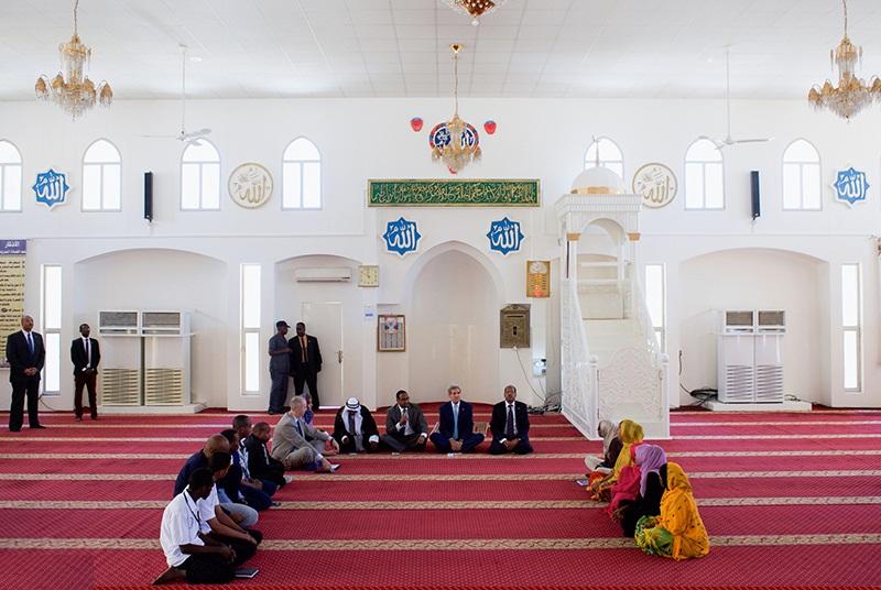 تصاویر : جان کری در مسجد جیبوتی