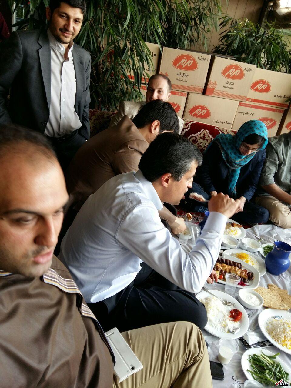 دیدار یاسر هاشمی با فعالان رسانه ای اصولگرا