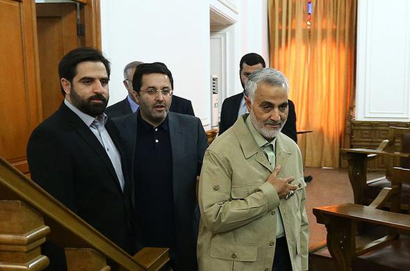تصاویر : سردارسلیمانی در فراکسیون رهروان