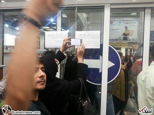 اتفاق عجیب در پرواز هواپیمایی «زاگرس» مشهد- بوشهر!+عکس