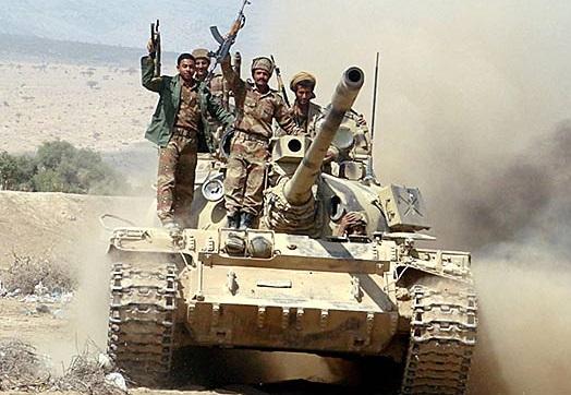 ارتش یمن 10 کیلومتر از خاک عربستان را تصرف کرد