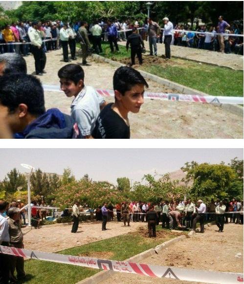 شلیک اشتباهی 2 گلوله توپ جنگی در اصفهان!