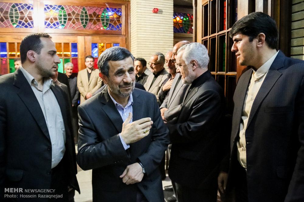 اولین مواجهه احمدی نژاد و رحیمی پس از نزاع مکتوب+عکس