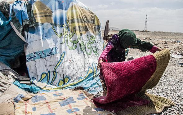 تصاویر : خانواده بیخانمان در حاشیه تهران