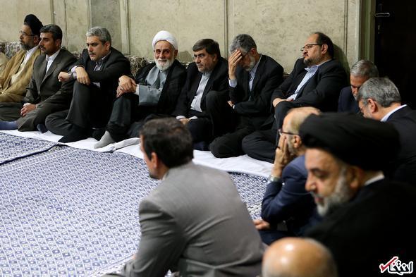 کدام مسئولان در دیدار با رهبر انقلاب حضور داشتند؟
