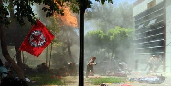 تصاویر : حمله انتحاری در ترکیه
