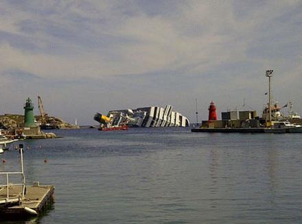 کشتیهای به گل نشسته معروف