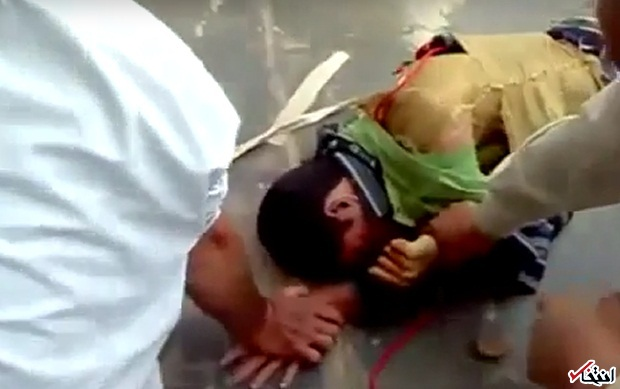 فیلم: یک داعشی چند ثانیه پیش از عملیات انتحاری