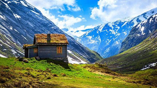 نروژ، سرزمین خانههای خیالانگیز