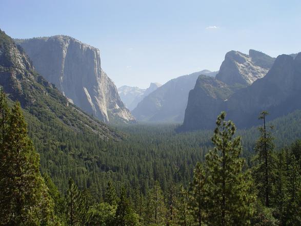 پارک ملی یوسیمیتی، زیباترین پارک امریکا