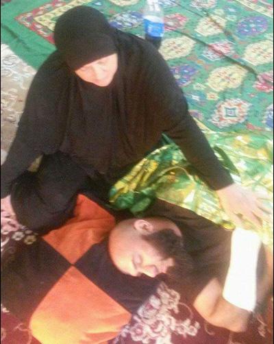 عکس : ابوعزرائیل مجروح شد